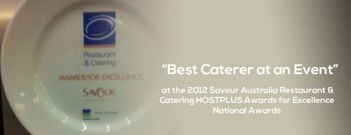Forte Catering Awarded Best Caterer at an Event 2012 | Forte Catering