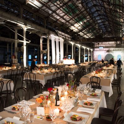 Forte Catering Wedding table layout