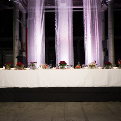 Forte Catering table layouts