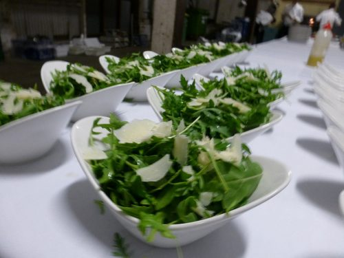 Salad catering