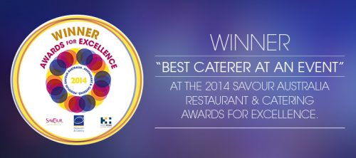 Forte Awarded Best Caterer at an Event for Sydney & Surrounding Suburbs