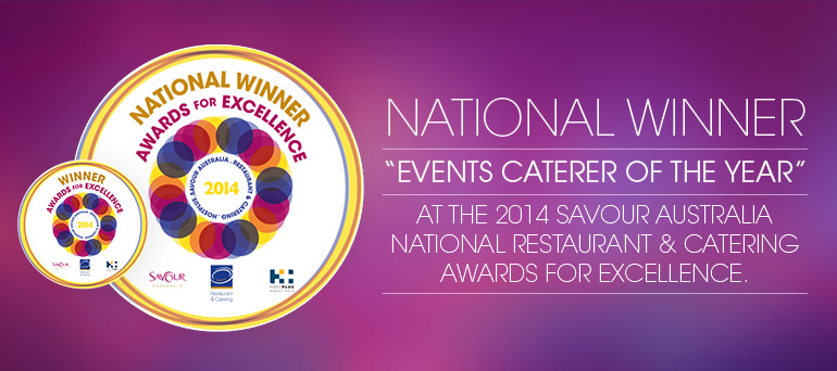 Forte are Proud to Announce Their Title as National Events Caterer of the Year