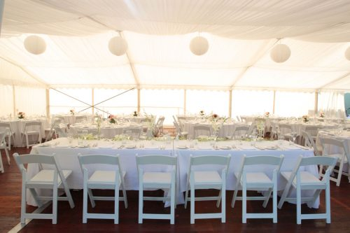 Wedding table layouts