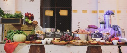 Forte Catering wedding platters