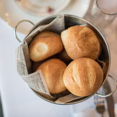 Bread rolls for wedding