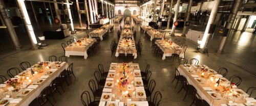 venue table sets