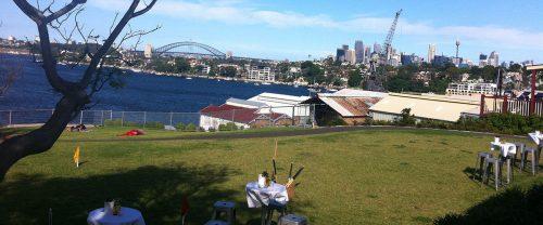 Sydney Harbour Wedding View