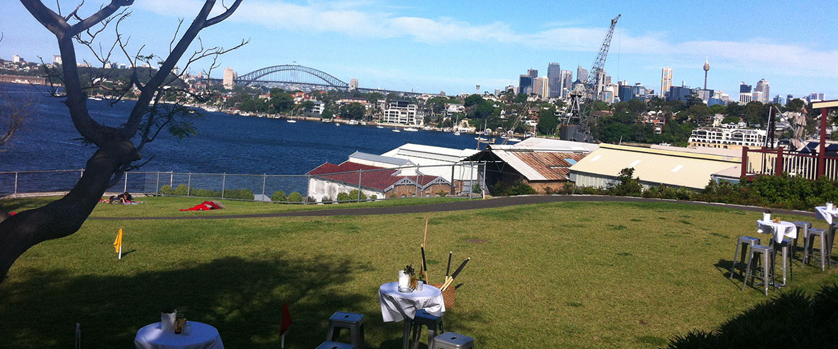 Sydney Harbour Wedding View