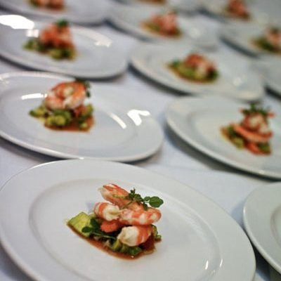 Forte Catering prawn entree