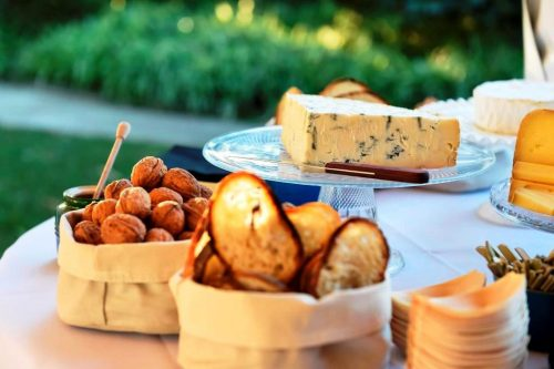 Forte catering cheese platter