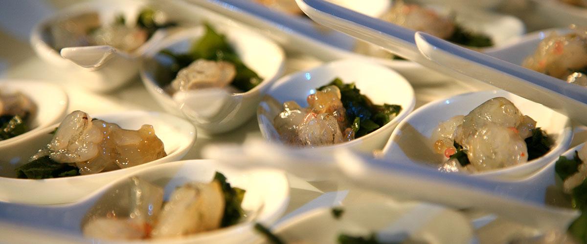 seafood starter dish