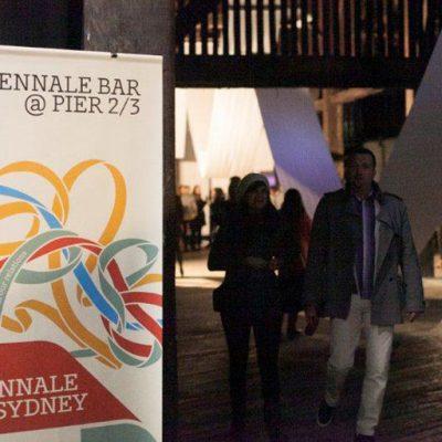18th Biennale of Sydney banner