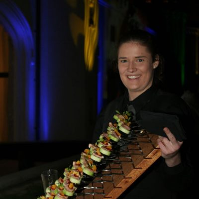 Canapes and finger food catering