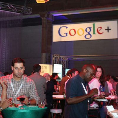 Google Corporate event catering