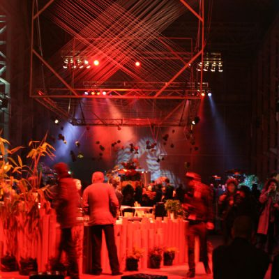 forte catering and events on cockatoo island