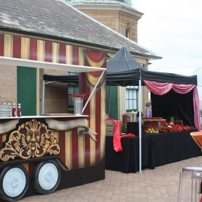 Forte catering circus themeing