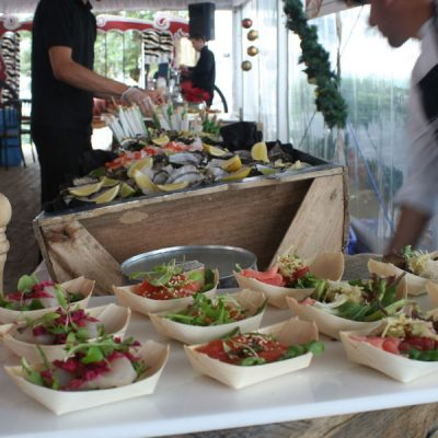 Food at circus event