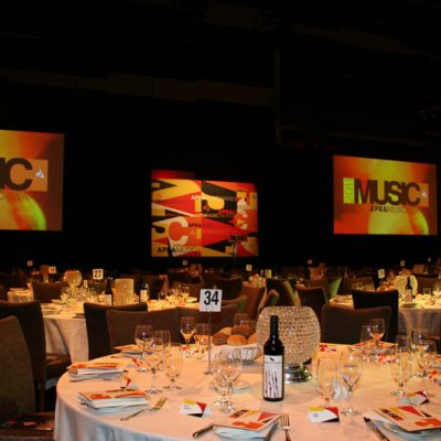 APRA Music Awards event catering