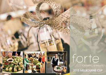 Melbourne Cup Catering Packages by Forte