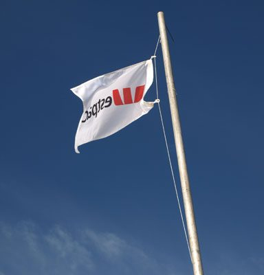 Westpac City to Surf flag