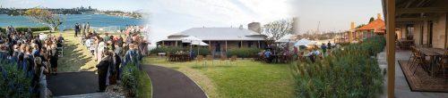Cockatoo Island, Biloela House & Lawn function Venues