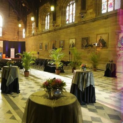 Great Hall - University of Sydney function Venues