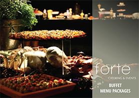 Forte Catering Buffet Menu
