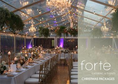 Forte Catering Christmas Menu