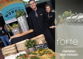 Forte Catering Conference Menu