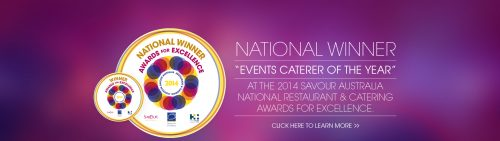 Best caterer award Sydney