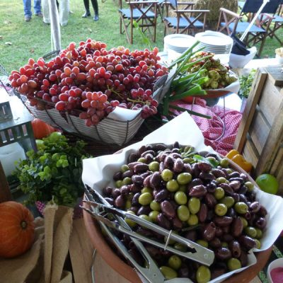 Fruit platter catering