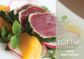 Forte Catering Seated Menu