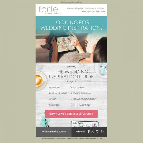 Wedding Guide EDM Follow Up