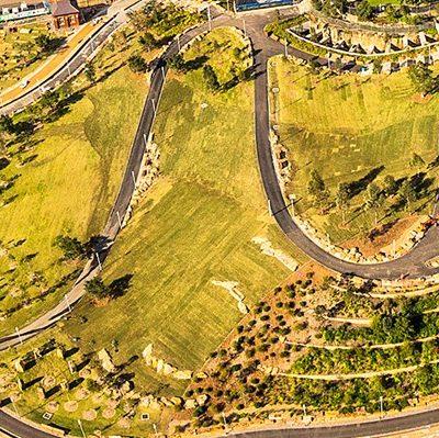 Walumil Lawns Birdseye View