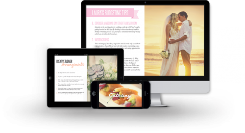 Wedding Guide on Multiple Devices