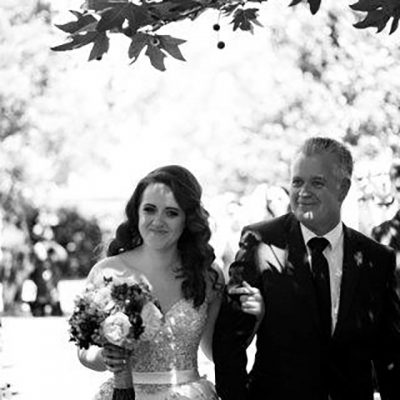 Beka & Con Wedding Father of the Bride