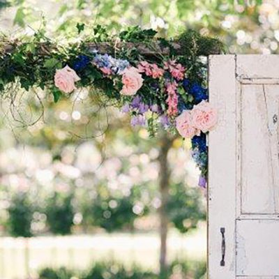 Beka & Con Wedding Door and Archway