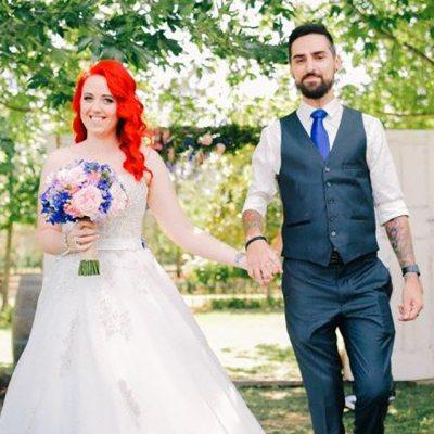 Beka & Con Wedding Walkind Down Aisle