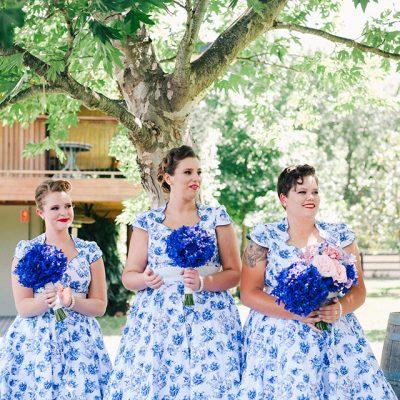 Beka & Con Wedding Bridesmaids