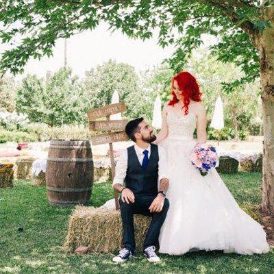 Beka & Con Wedding Seated