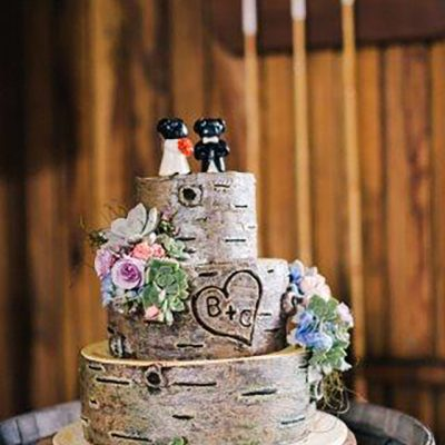 Beka & Con Wedding Cake