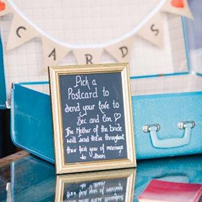Beka & Con Wedding Postcard