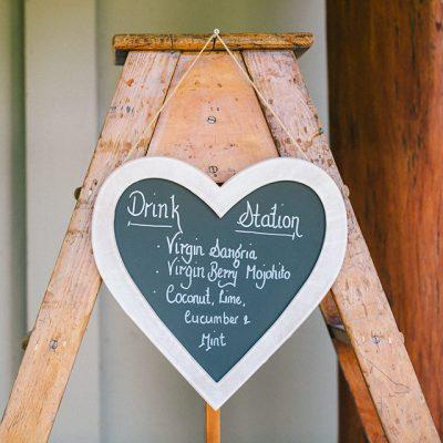 Beka & Con Wedding Drink Station