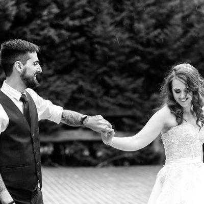 Beka & Con Wedding Black & White