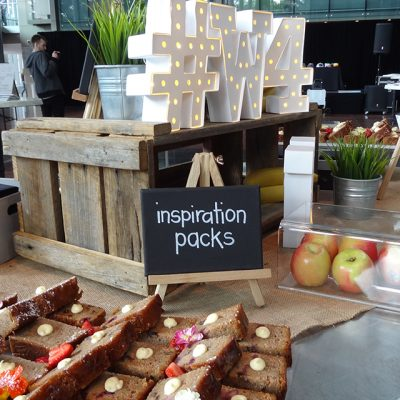 Wired for Wonder 2015 Food Table