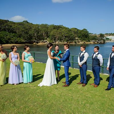 Ange & Beau Wedding Ceremony