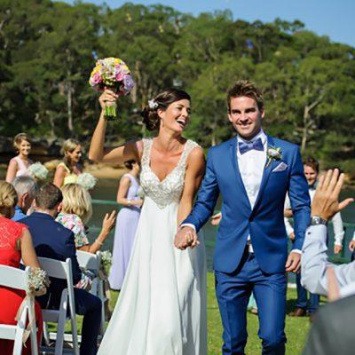 Ange & Beau Wedding Aisle