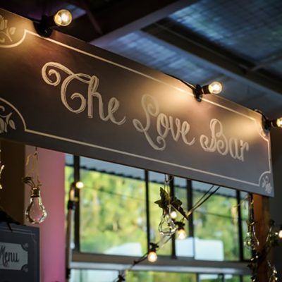 Ange & Beau Wedding The Love Bar