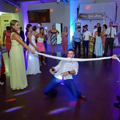 Ange & Beau Wedding limbo