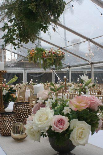 Lauren & Ed Wedding Flowers and tables